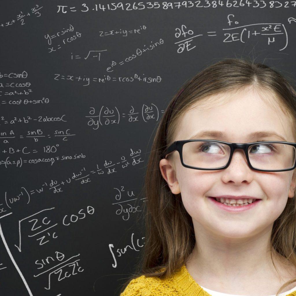 criança inteligente